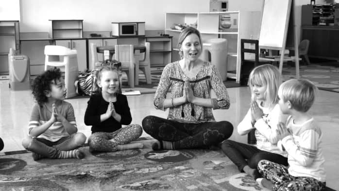 Kids' yoga offers benefits in school