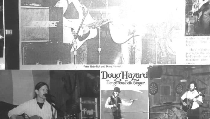 Forty years later, Doug Hazard still playing at McGrath's Irish Pub