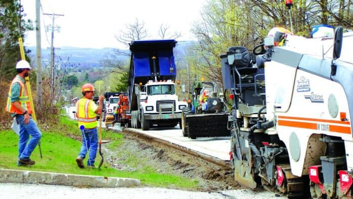 Route 4 road work continues, delays expected