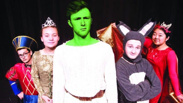"Chandler presents ""Shrek the Musical"""