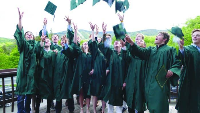 KMS grads celebrate HS experience