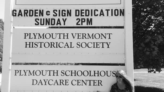 Plymouth dedicates new sign