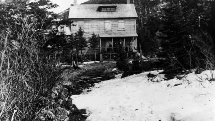 Killington Peak's first mountain houses
