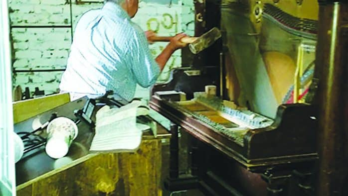 Ludlow piano bound for scrap heap
