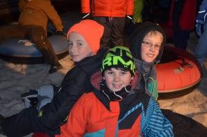 2.16-Winterfest in Rutland-night sledding-Courtesy of Rutland Rec & Parks Dept