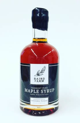 By Jenna Baird, Baird Farm Baird Farm in Chittenden has been producing maple syrup for 100 years, through generations.