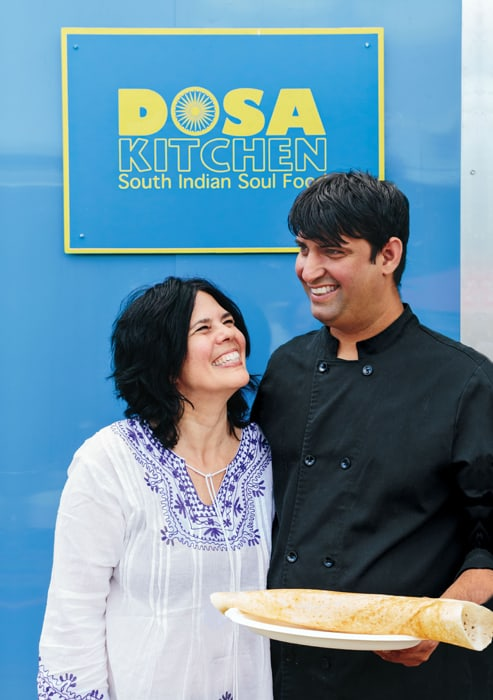 "Courtesy Phoenix Books Nash Patel and Leda Scheintaub, authors of  ""Dosa Kitchen,"" will be available for meet-and-greet — and have samples of dosas available."