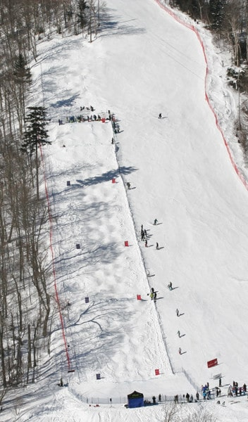 Submitted The Killington Ski Club received a $25,000 grant improve safety on the Highline Trail – the primary venue for freestyle competitions and races.