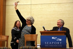 Bonnie MacPherson, newly appointed Northeastern communications manager for Okemo Mountain Resort and Mount Sunapee,  was honored Nov. 9 with a BEWI Award at the 33rd annual BEWI Luncheon and Awards Ceremony.