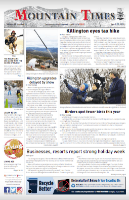The Mountain Times – Volume 48, Issue 2: January 9-15, 2019