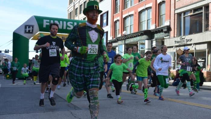 Leprechauns on the run