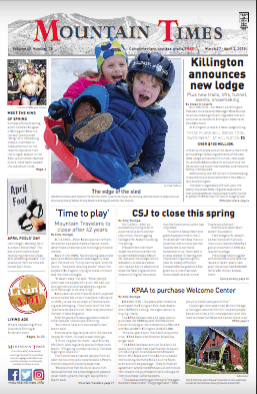The Mountain Times – Volume 48, Number 14: March 27- April 3, 2019