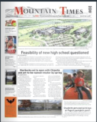The Mountain Times – Volume 48, Number 44: Oct. 30 – Nov. 5, 2019