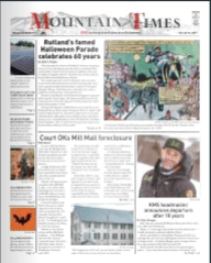 The Mountain Times – Volume 48, Number 43: Oct. 23-29, 2019