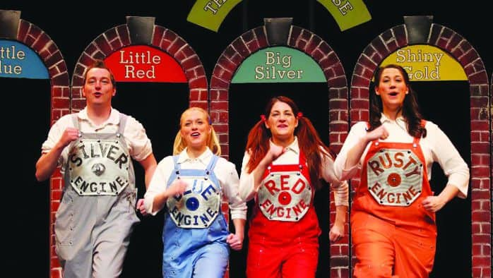 'The Little Engine That Could Earns Her Whistle' takes the stage
