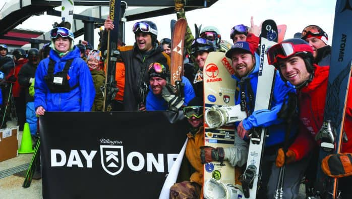 Killington Resort opens for season