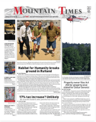 Mountain Times – Volume 48, Number 32: August 7-13, 2019