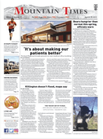 Mountain Times – Volume 48, Number 17: April 24-30, 2019