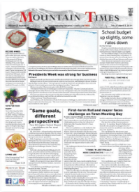 Mountain Times- Volume 48, Number 9: Feb. 27-Mar. 6