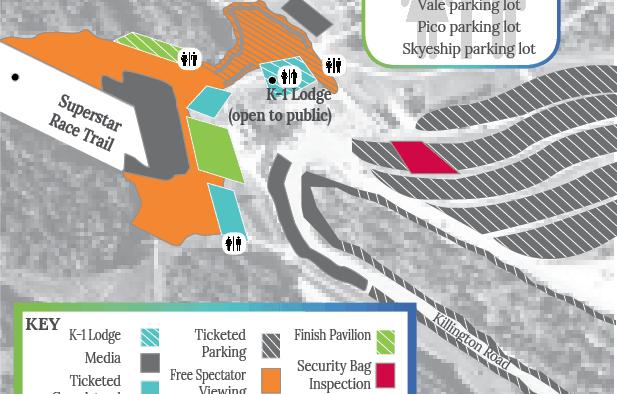 HomeLight Killington Cup Festival Village Map