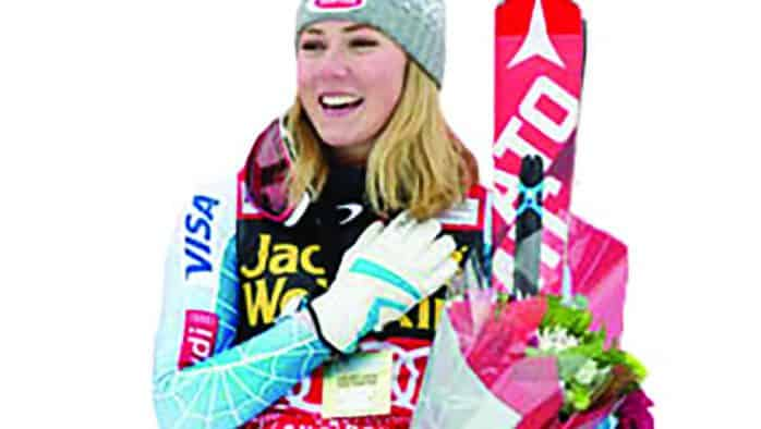 Mikaela Shiffrin is off to a great start