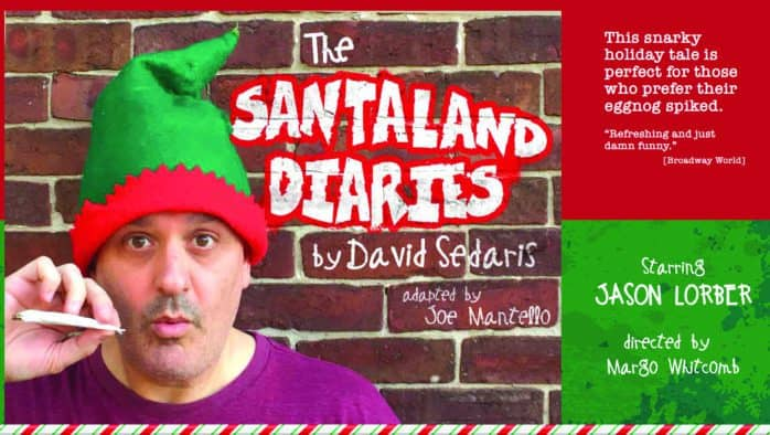 'Santaland Diaries' offers adult-oriented cheer