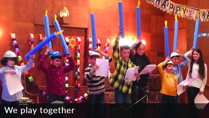 Chanukah Celebration held at Congregation Shir Shalom