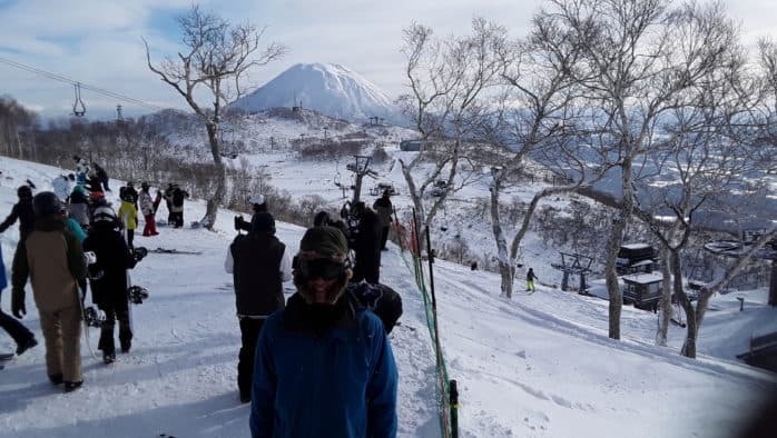 Skiing in Japan, a contrast to Vermont and America