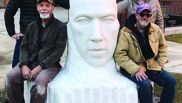 Sculpture of AA founder unveiled