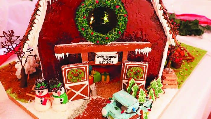Gingerbread houses reimagine holiday sweets