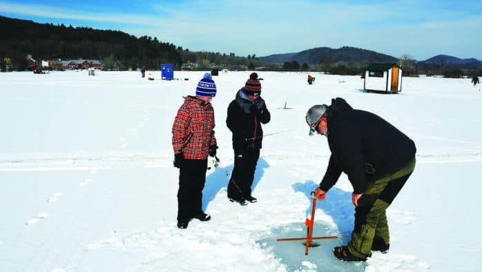 Ice fishing clinics start Jan. 11