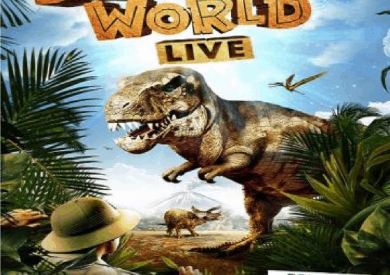 'Dinosaur World Live' roars into the Paramount