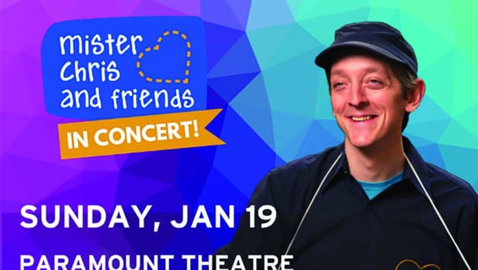 Sing and dance along with Mister Chris and friends in concert