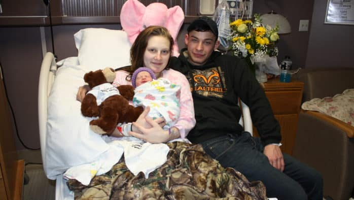 RRMC's first baby of 2020 is born
