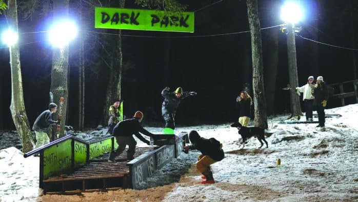 Cash up for grabs at the Dark Park