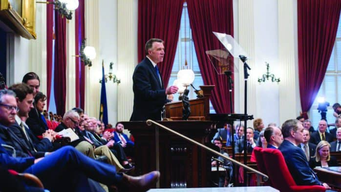 Governor highlights demographics in State of State address