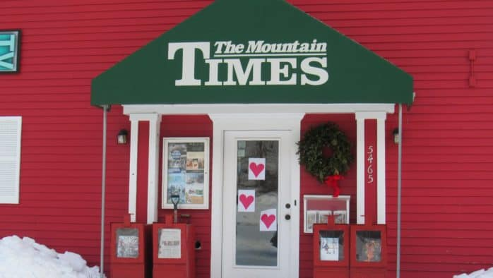 Letter to the readers of the Mountain Times