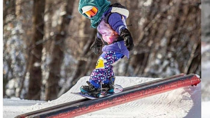 Mini Shredders hit the slopes