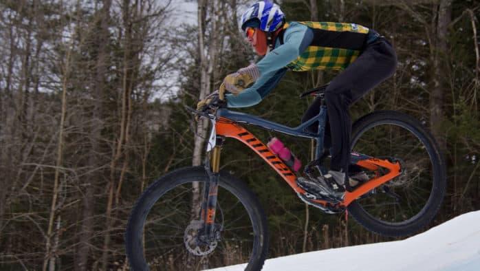 Abe-BERM-ham's slalom race held at Suicide Six last Saturday