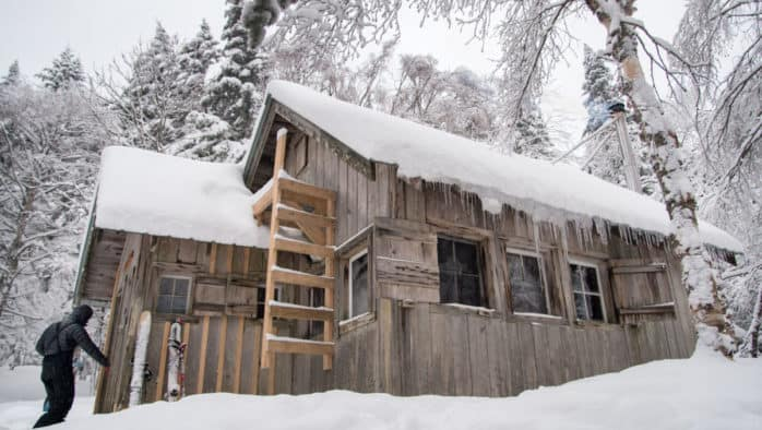 Vermont Huts closed through April 30