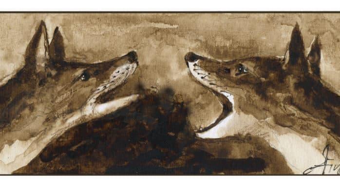 From yips to shrieks, fox talk runs the gamut