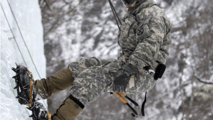 A skier dies and a tragic rescue