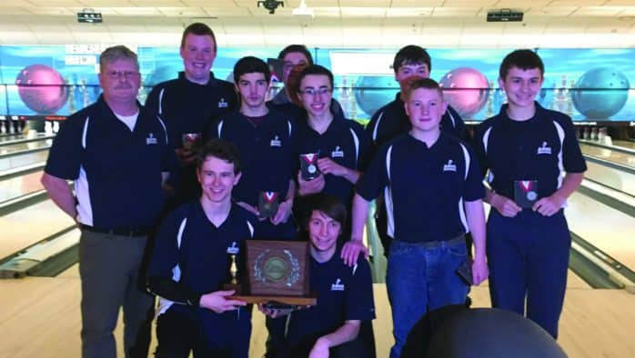 Fair Haven Slaters claim HS bowling championship