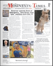 Mountain Times – Volume 49, Number 16 – April 15-21, 2020