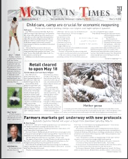 Mountain Times – Volume 49, Number 20 – May 13-19, 2020