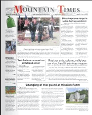 Mountain Times – Volume 49, Number 22 – May 27- June 2, 2020