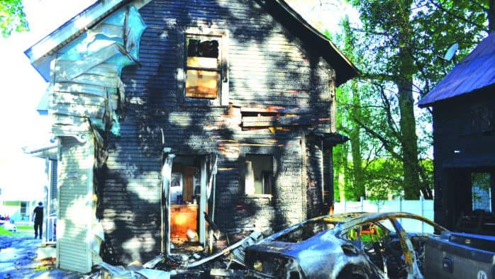 Neighbor saves family from late night fire