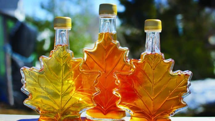 Maple Sugar Makers donate maple syrup to hospitals