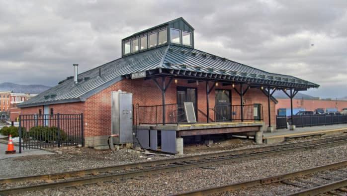 Rutland's passenger rail service suspended