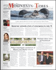 Mountain Times – Volume 49, Number 25 – June 17-23, 2020